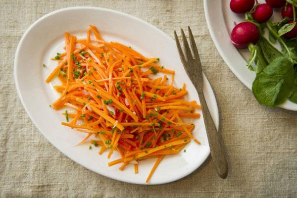salad cà rốt