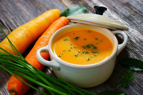 súp cà rốt
