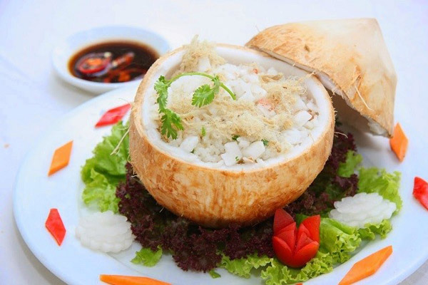 cơm dừa bến tre