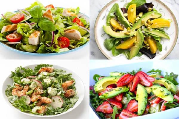 Bạn được học cách làm salad