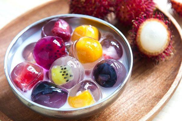 chè thạch trái cây