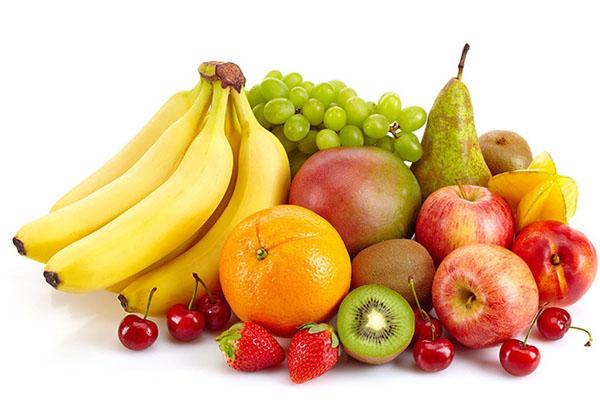 chọn nhiều loại trái cây