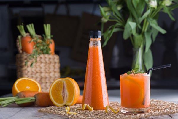 Bổ Sung Vitamin Cho Cơ Thể Bằng Nước Ép Cam Cà Rốt Thơm Ngon