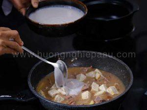 cách nấu vịt nấu chao ngon