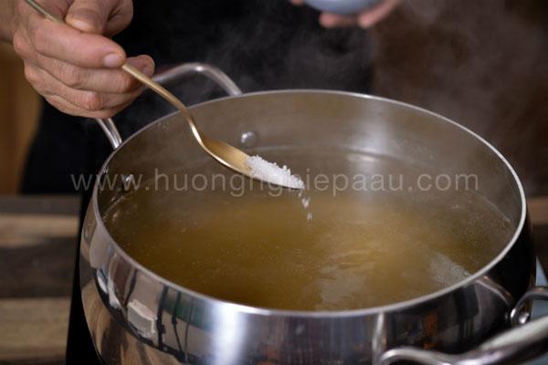 cách nấu nước dùng bún