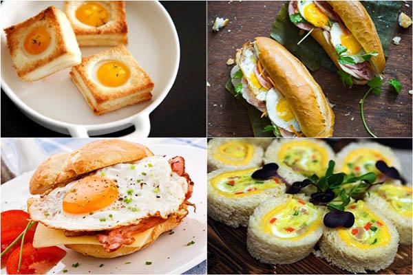 ăn sáng với bánh mì