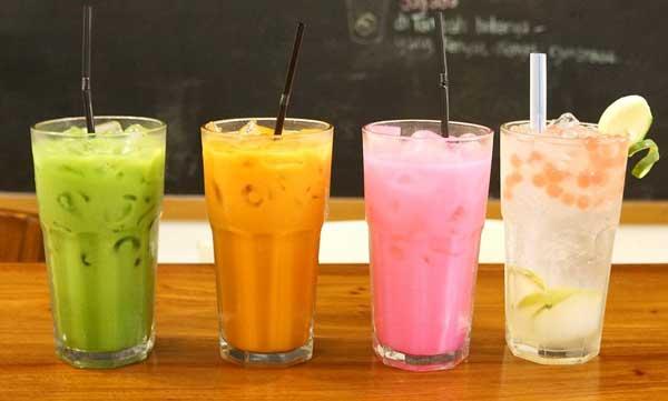 Các loại trà sữa