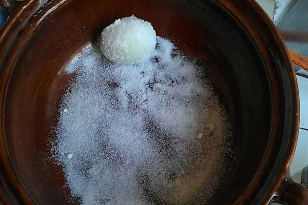 cách làm trứng vịt muối