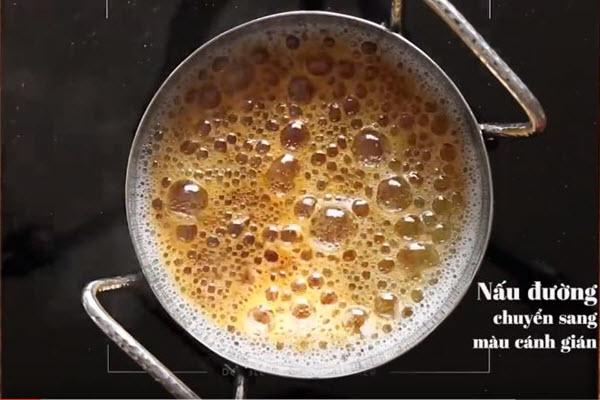 cách nấu đường caramen