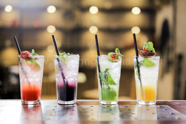 các ly nước mojito