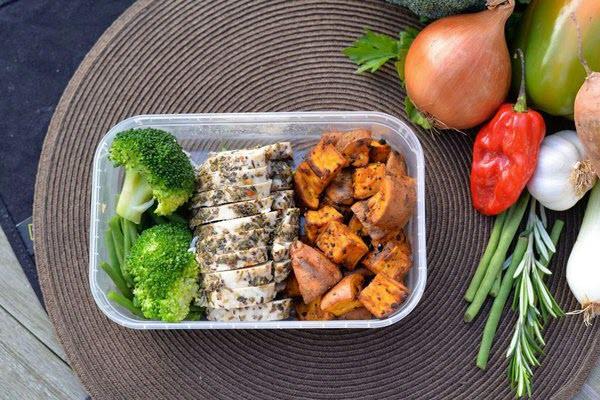 Hình kiểm soát cân nặng bằng ăn uống