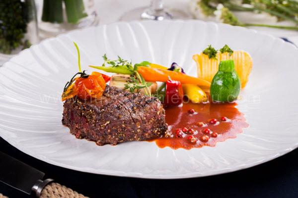hình món ăn dùng thảo mộc
