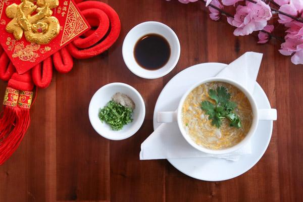 Hình súp măng tây thịt cua bổ dưỡng