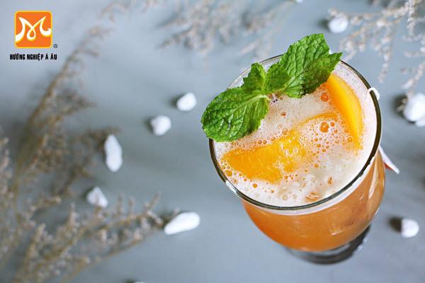 Hình trà đào cam sả