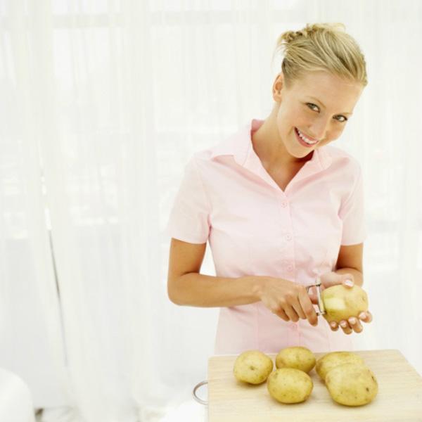 Giảm 2 kg trong 3 ngày bằng khoai tây