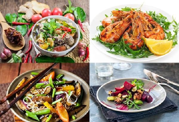 Làm những món ăn ngon đầy đủ dưỡng chất tại nhà
