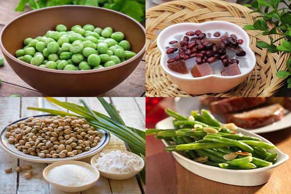món ăn từ đậu tốt cho sức khỏe