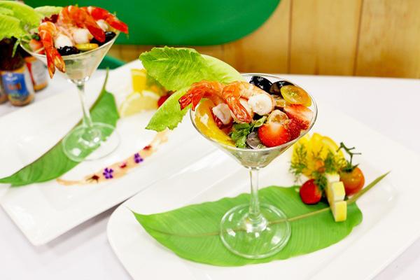 Salad tôm cocktail