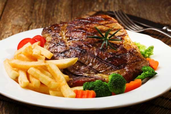món thịt bò nướng tảng