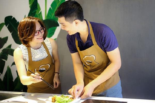 Chương trình dạy nấu ăn gia đình ở TPHCM