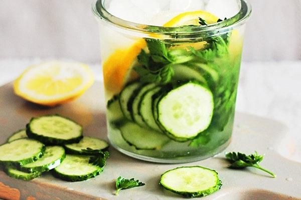 nước detox giảm cân