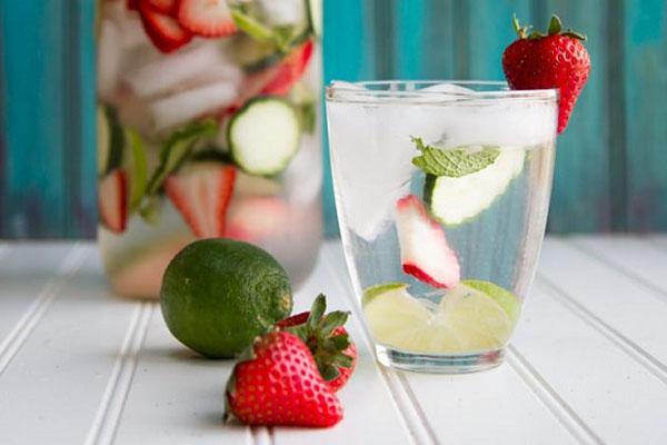 nước detox giúp giảm cân