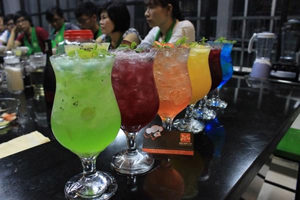 Pha chế thức uống từ nguyên liệu tự nhiên