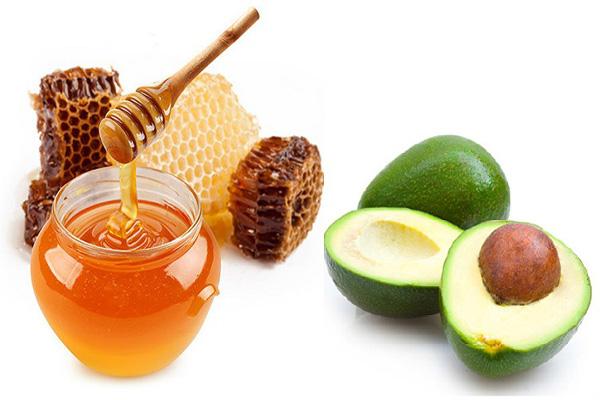 sinh tố bơ mật ong chống lão hóa