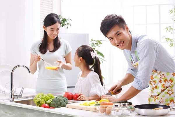 Học Nấu Ăn Gia Đình – Học Cách Trao Gửi Yêu Thương
