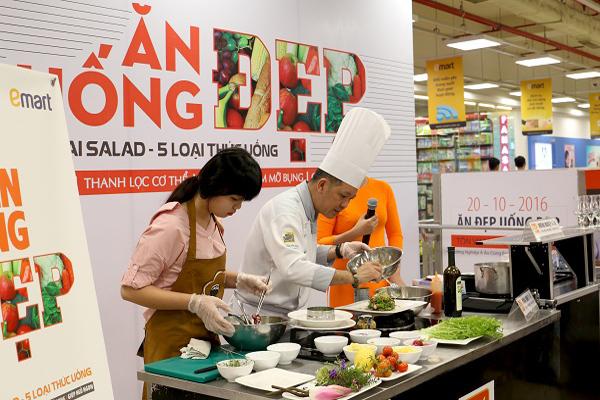 Chương trình ăn đẹp – uống đẹp mừng ngày phụ nữ VN