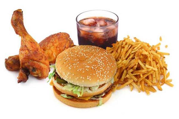 thức ăn nhanh gây béo phì