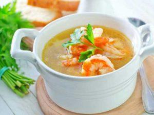 cách nấu súp tôm cho bé tại nhà