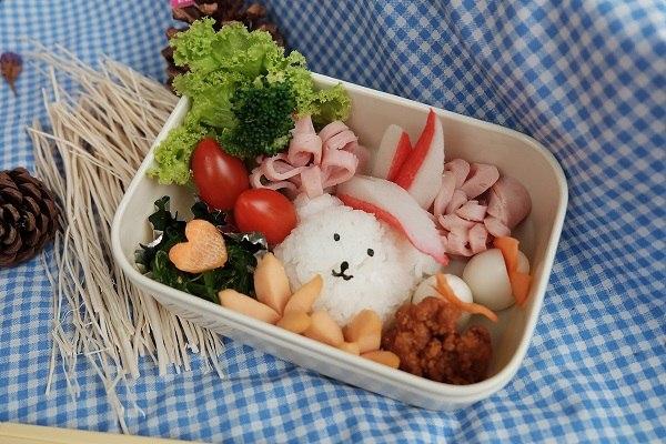 cơm hộp dành cho trẻ nhỏ
