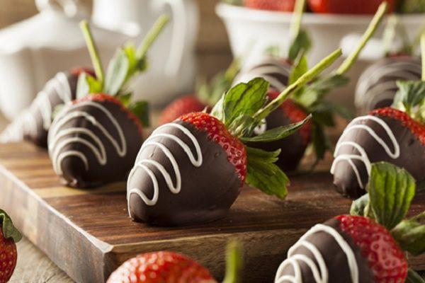 Dâu tây chocolate thơm ngon