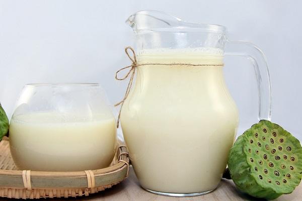 hình ảnh sữa hạt sen