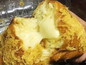 hình bánh mì phô mai tan chảy