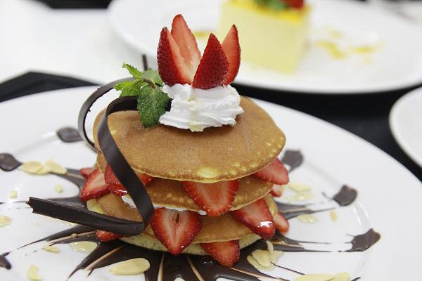 hình bánh pancake