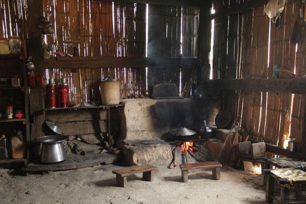 Hình bếp củi