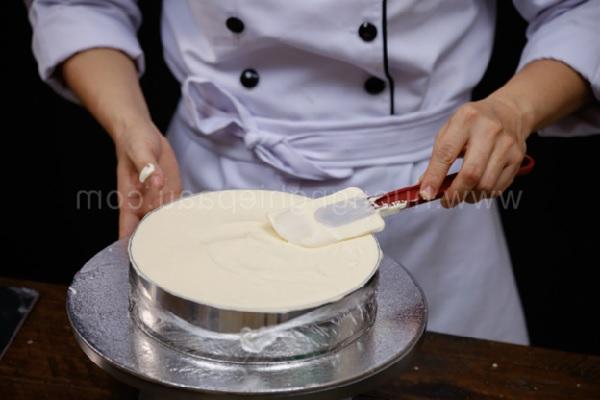 hình cách làm bánh cheesecake