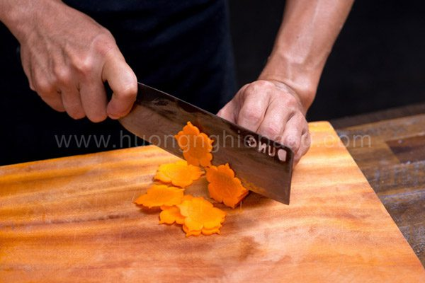 Hình cắt củ cải