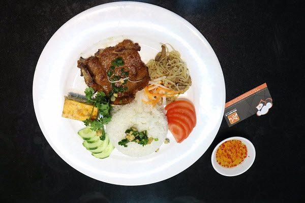hình cơm tấm nhà hàng quán ăn