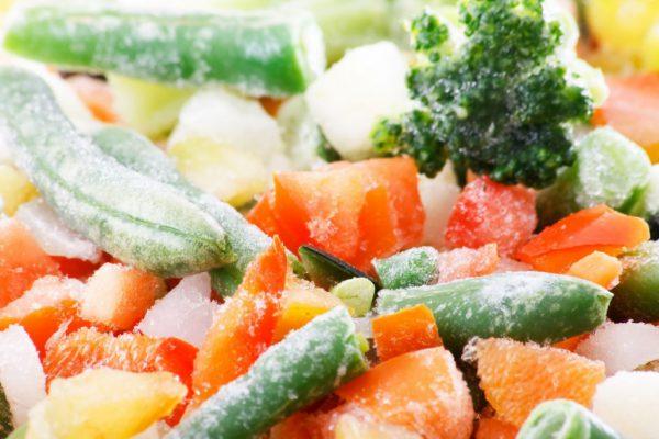 hình đông lạnh rau củ quả