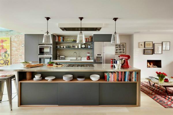 Hình mẫu thiết kế phòng bếp
