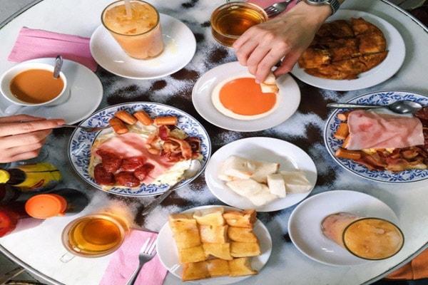 Những món ăn Phương Tây