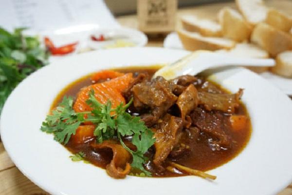 hình ảnh món bò kho