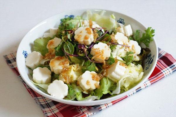 Hình Salad đậu hũ