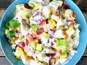 hình salad nga