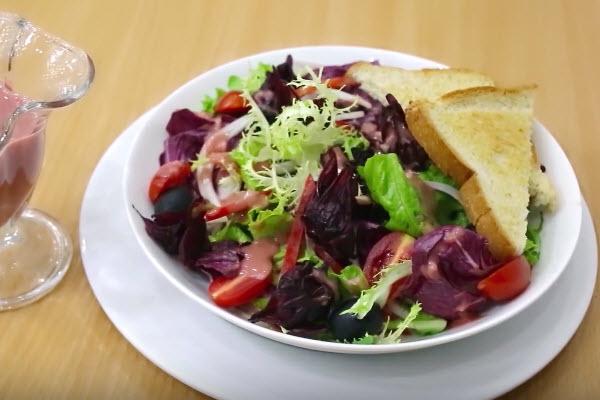 hình salad rau củ