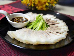 Hình thịt heo luộc