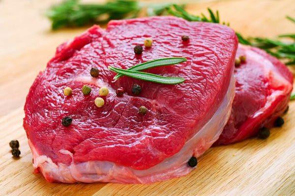 Hình chọn thịt bò tươi